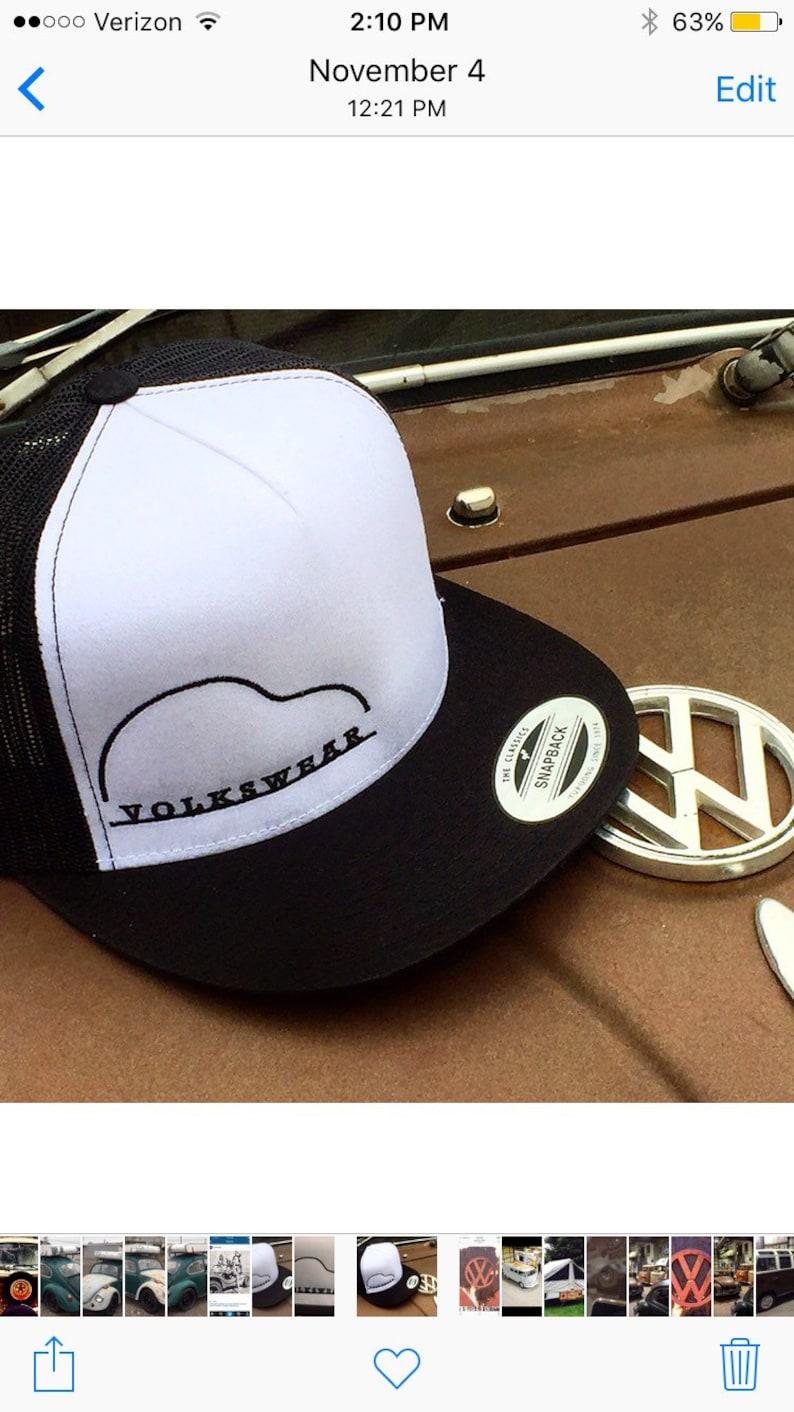 Volkswear Classic Snapback Ball Cap.  Volkswagen. image 0