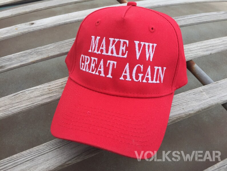 Make VW Great Again Classic Trucker Hat.  Volkswagen Bug Bus image 0