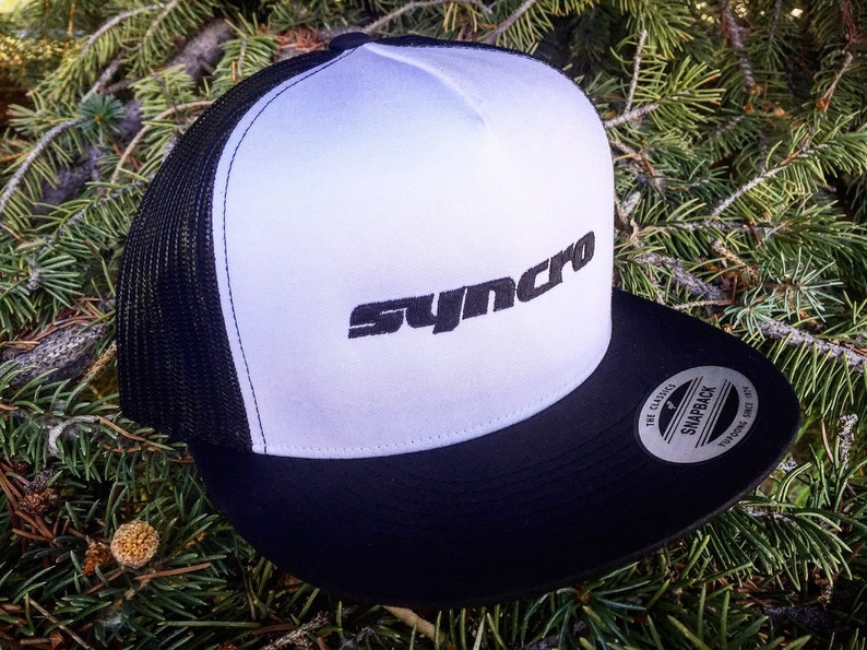 Volkswagen Syncro Trucker Hat.  Structured front with image 0