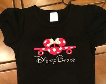 Disney Bound Shirts,  Disney Shirts,  Minnie Mouse,  Disney Family Shirts,  Disney Shirt,  Disney Shirts for Girls,  Disney Trip,  Matching