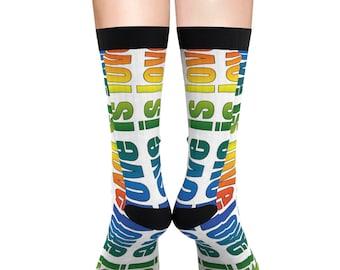 Love Is Love Socks