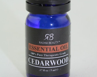Cedarwood Essential Oil, 100% Therapeutic Grade, Holisitic, Health Caring, medicinal, essential oils, woodsy, warming essential oils, single