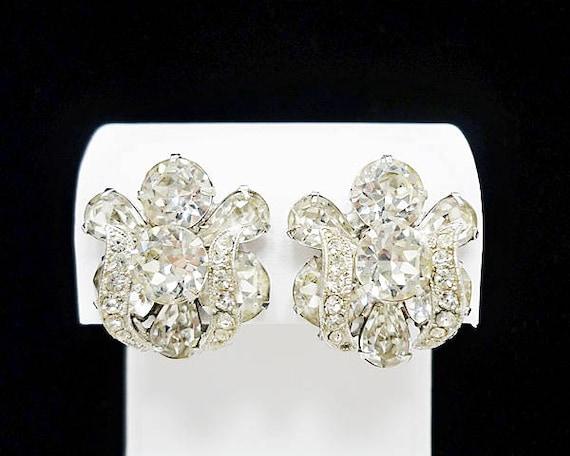 Vintage Eisenberg Clip Earrings, Eisenberg Jewelry