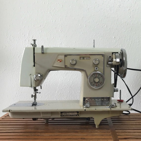 40's Kenmore Domestic Sewing Machine Sears Kenmore Etsy Gorgeous Who Makes Kenmore Sewing Machines For Sears