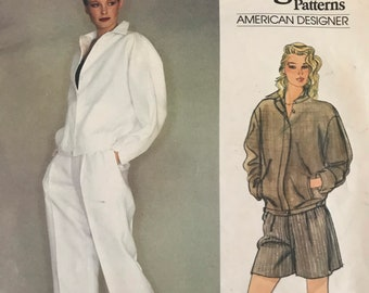 Jacket, Pants and Shorts Sewing Pattern designed by Perry Ellis for the American Original Series by Vogue