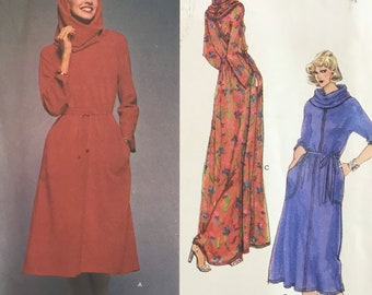 Pullover Dress Sewing Pattern Designed by Leo Narduccci for the Vogue American Designer Series