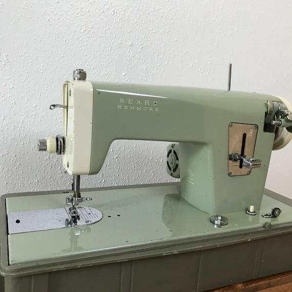 Kenmore Sewing Machine Sears Kenmore Sewing Machine Etsy Amazing Sears Kenmore Sewing Machine