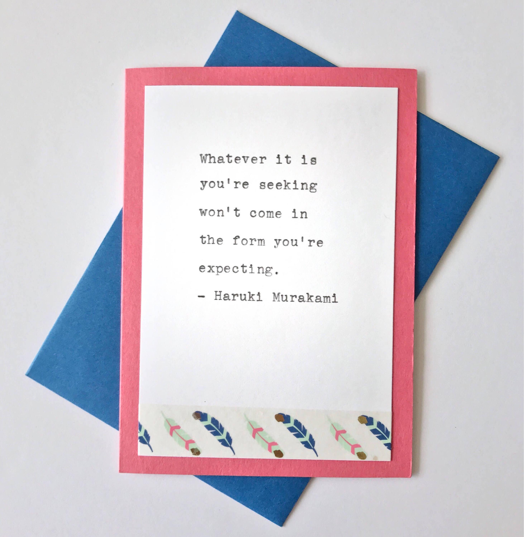 Inspiration Notecards Set Of 4 Encouragement Cards Any Etsy
