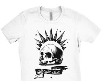 6b0d167be5b86 Chloe Price Shirt Misfit Skull or Illuminati design Ladies sizes cosplay  screenprinted Before the Storm cosplay gamer shirt