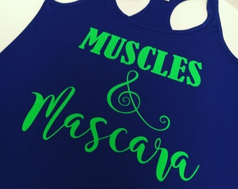 Muscles & Mascara Work Out Tank