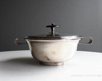 Mueck-Cary Silver plate Casserole Pot