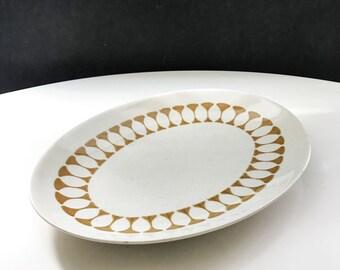 Retro Oval Serving Platter