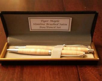 Wood Pen/Pencil Set