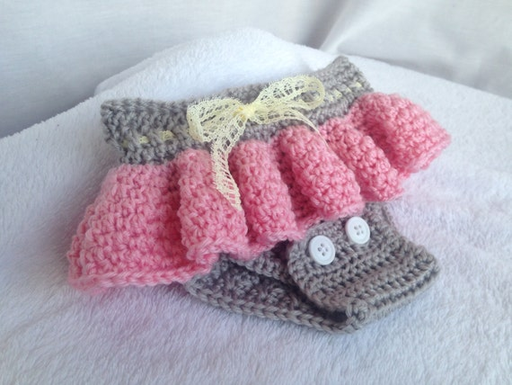 Crochet Pattern Baby Diaper Cover Crochet Baby Skirt Etsy