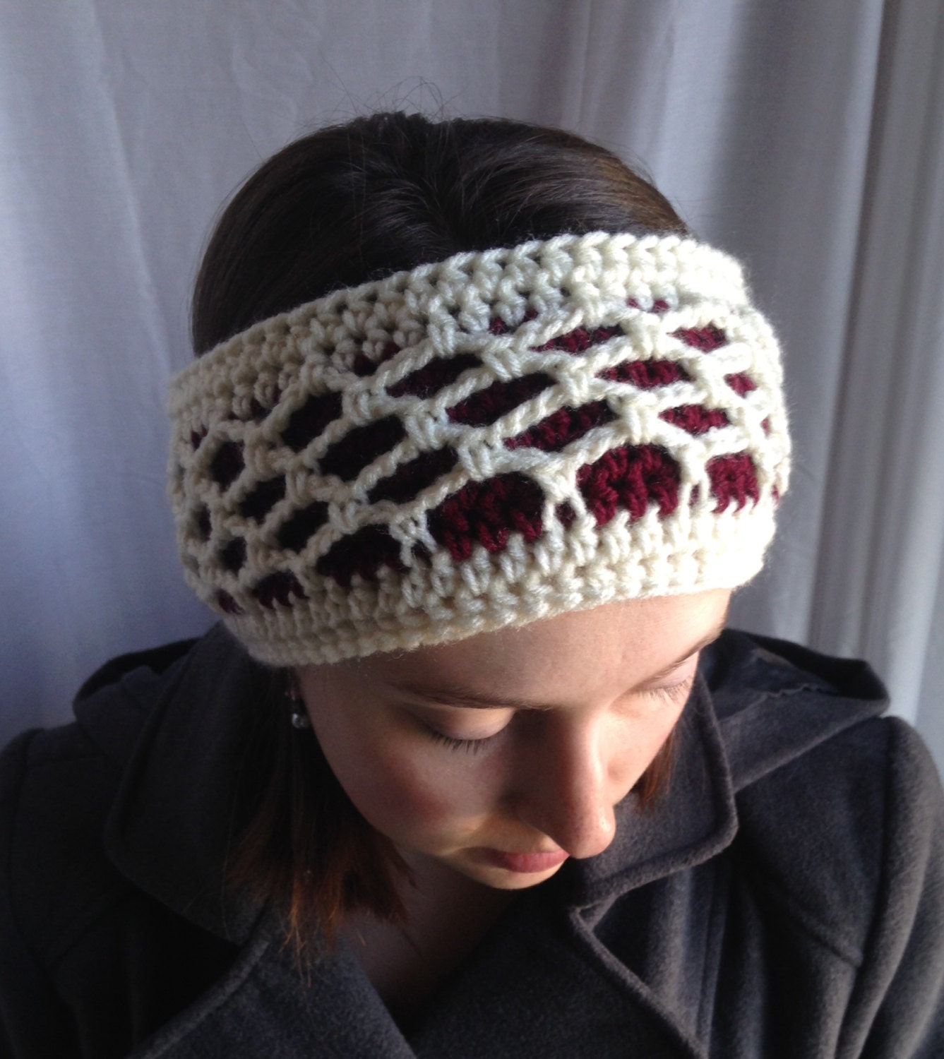 Crochet Pattern Winter Ear Warmer Crochet Winter Headband Etsy