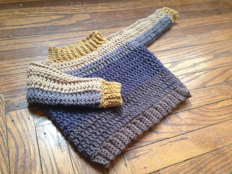 4cb654101307 Crochet PATTERN crochet baby sweater pattern easy baby boy