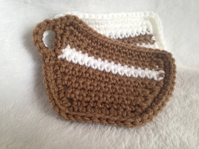 Crochet Pattern Coffee Cup Coaster Beginner Crochet Etsy