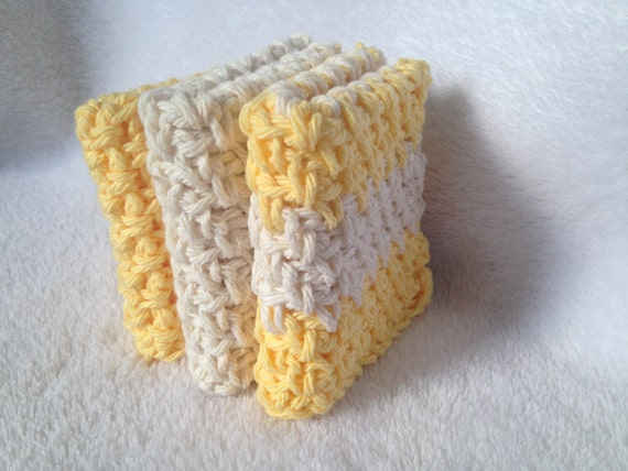 Häkeln Sie Muster Leinen Stitch Waschlappen Geschirrtuch Etsy