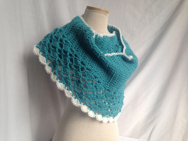 Crochet Pattern Crochet Shawl Pattern Easy Crochet Wrap Etsy
