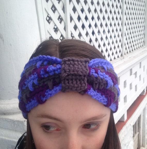 Häkelanl Drop Stitch Turban Stirnband Häkeln Muster Paket Etsy