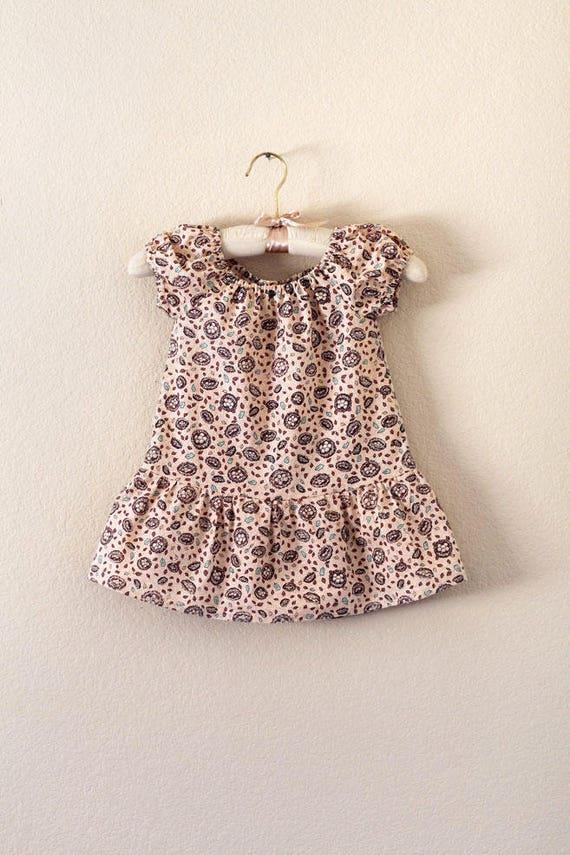 100/% Cotton Handmade Girls/' Top 4T