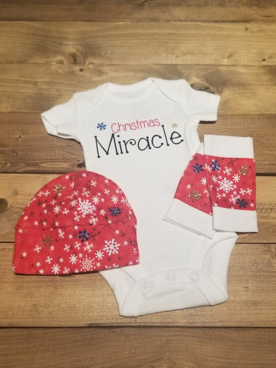 image 0 - Preemie Christmas Outfit NICU Christmas Preemie Clothes Etsy