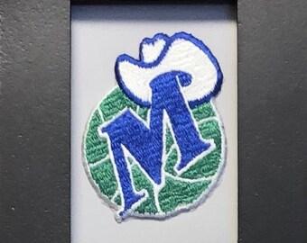 Dallas Mavericks Embroidered Iron On Patch.
