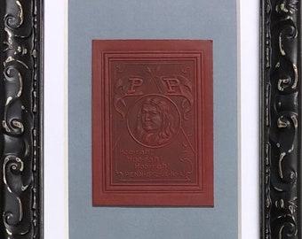 Penn Quakers Schmidt/'s of Philadelphia Vintage Beer Coasters--Framed Set of 4
