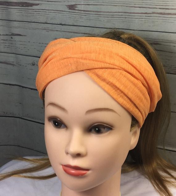 Orange Turban Headband boho Headband boho style Headbands  32852ecf75d
