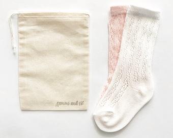 e86b04b3f7e Crochet baby knee high socks