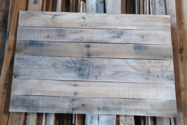 Pallet Wood Canvas Reclaimed Wood Canvas Pallet Wood For Etsy