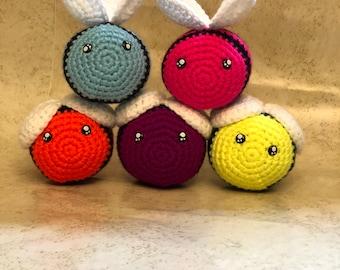 Bee crochet amigurumi stuffed animal