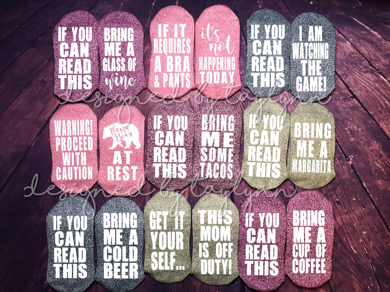 f2504959460 Chaussettes drôles bière chaussettes chaussettes de vin
