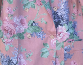 Pink Floral Jacket