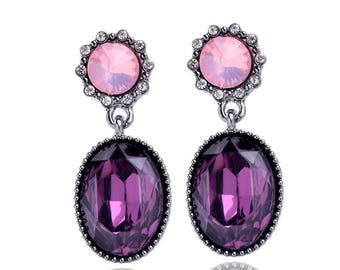 Vintage candy colors earrings