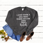 100 percent that witch sweater, Halloween Party Sweatshirt, halloween costume, halloween gift,  not so scary halloween sweatshirt, 100% that
