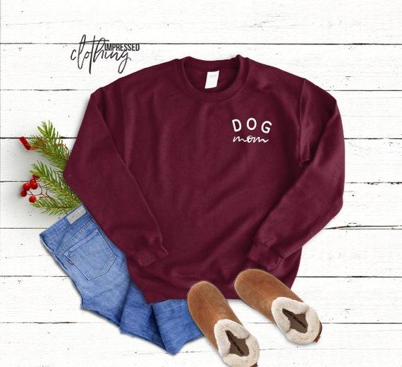 Fur Mama Sweatshirt Plus Sizes FREE SHIPPING Dog Mom Sweatshirt Love Dogs Dog Lover Gift Crewneck Sweatshirt Rescue Mom Dog Mom Gift
