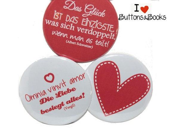 Hochzeit Valentinstag Verliebt Magnet Set 50mm Etsy