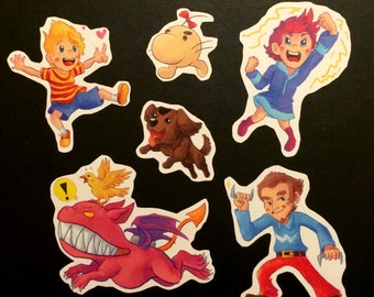 Items similar to Earthbound - Vinyl Sticker Pack on Etsy