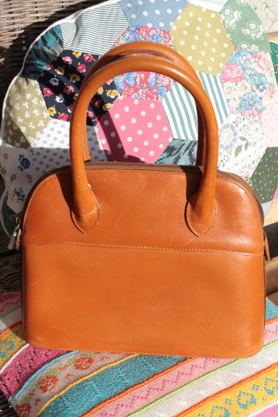 "FURLA"" - handbag vintage 90s, small"