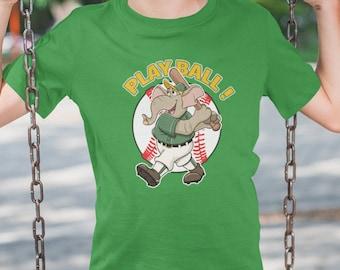 Oakland Baseball Mascot- Athletics T Shirt KIDS