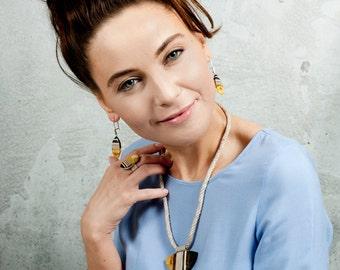 TRIANGLES Halskette von Amberwood Marta Wlodarska