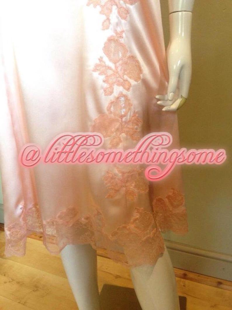 Satin lace silk nightwear plus size silk nighties plus size  55183b2db