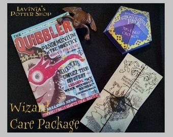 "NEW CUSTOM Set For Fan Of Harry Potter//American Girl//18/"" Doll Quibbler Choc Frog"