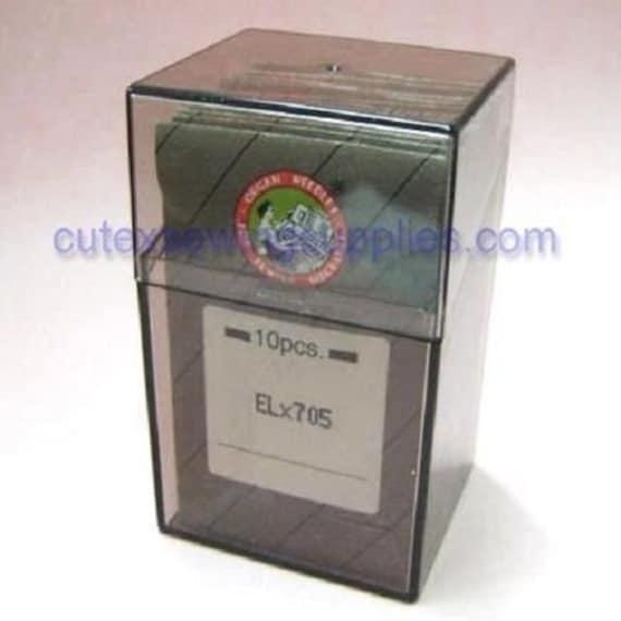 10 Organ ELX705 SY2922 Home Serger Coverstitch Needles