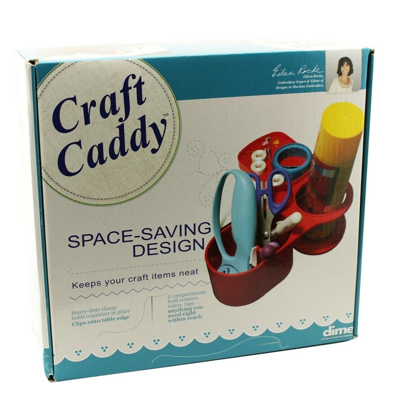 Dime Craft Caddy Clamp On Space Saving Design