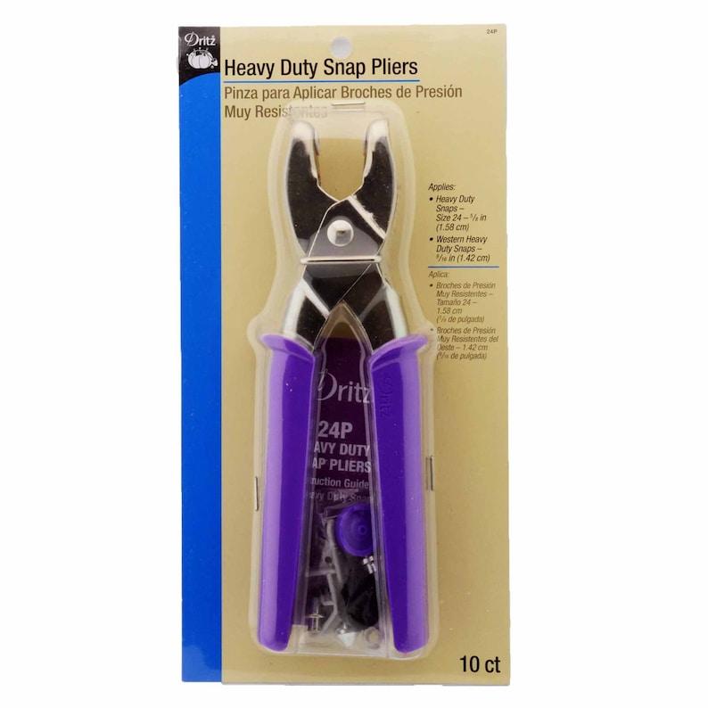 7 Sets//Package 5-1 Dritz Heavy Duty Snaps Nickel Size 24 5//8 Inch