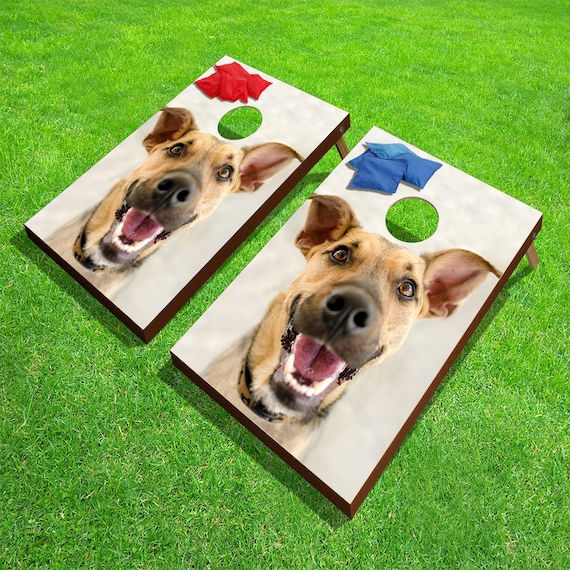 Prime Custom Photo Corn Hole Game Outdoor Bean Bag Toss 24 X 36 Pdpeps Interior Chair Design Pdpepsorg