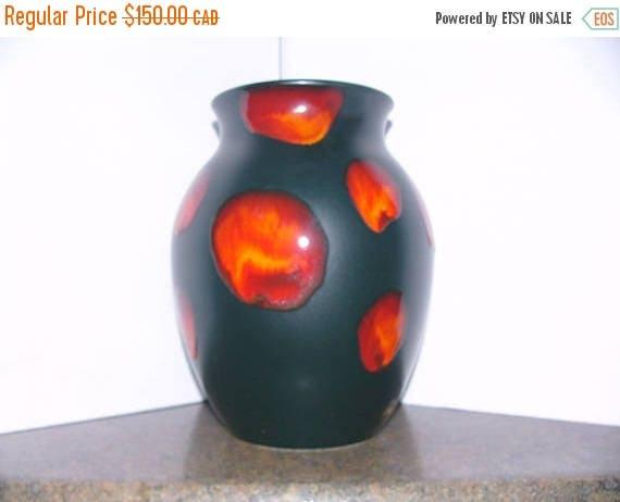 On Sale Vintage Poole Pottery Vase Etsy