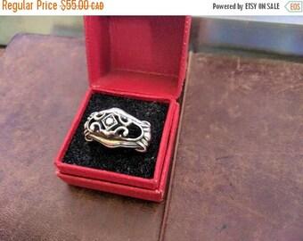 ON SALE Vintage Silver Ring